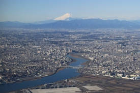 Airborne_imagery_Mt._Fuji_and_Tokyo_(4277464103)