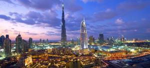Dubai Skyline 2014