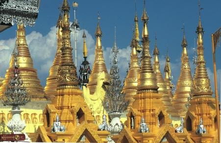 Rangoon Shwedagon-Pagoda